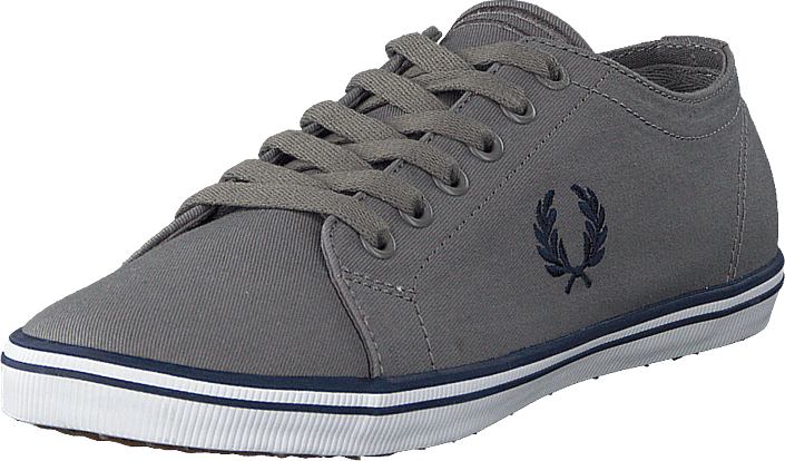 Fred Perry - Kingston Twill Falcon Grey/carbon Blue