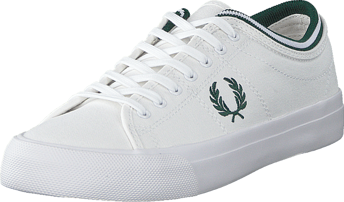 Fred Perry - Kendrick Tipped Cuff Canvas White/ivy