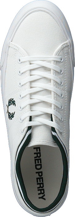 Kendrick Tipped Cuff Canvas White/ivy