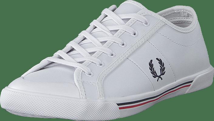 Ellerton Tipped Leather White/navy