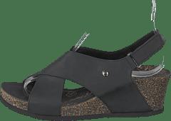 9633a6a15eabcc Panama Jack - Valeska Basics Napa Grass Negro black