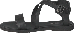 Sandal With Buckle Black