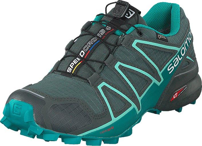 Salomon Speedcross 4 Gtx® W Balsam Gr/tropical Green/beach, Skor, Sneakers & Sportskor, Walkingskor, Turkos, Dam, 42
