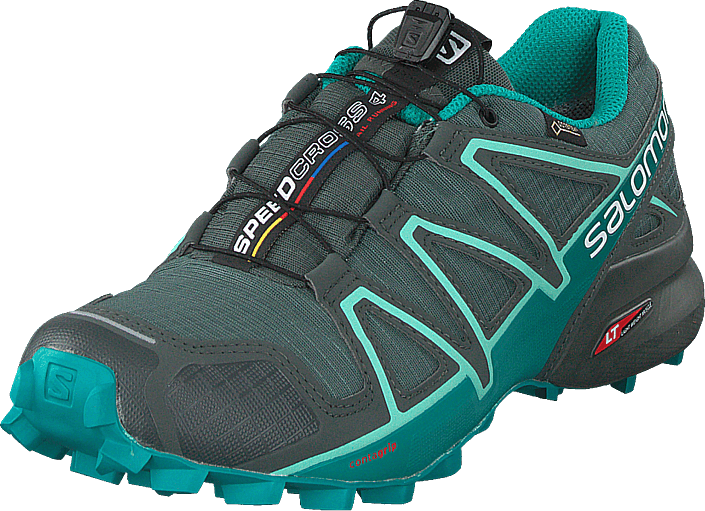 Salomon - Speedcross 4 Gtx® W Balsam Gr/tropical Green/beach