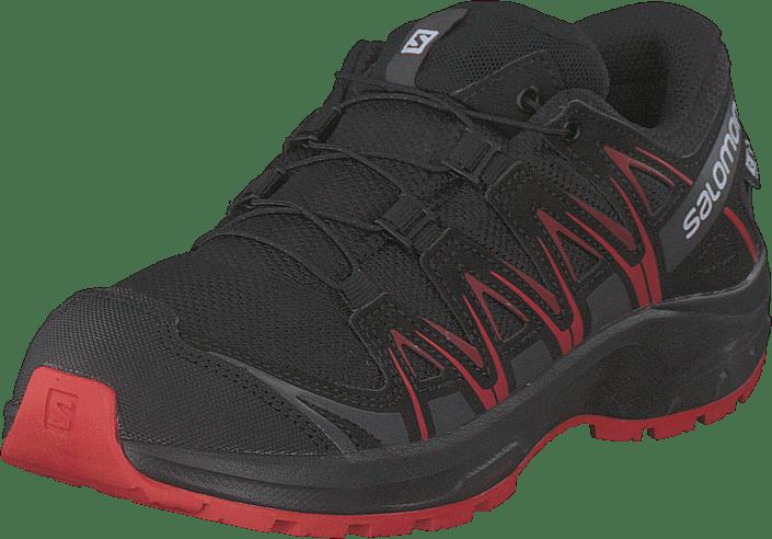 Salomon - Xa Pro 3d Cswp J Black/black/high Risk Red