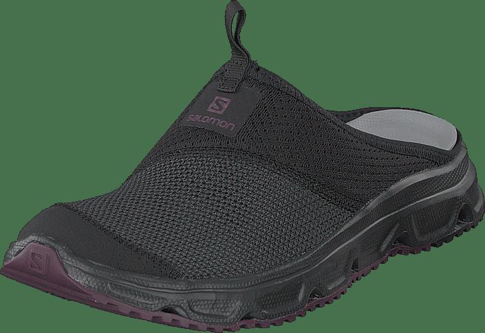 W Rx Salomon Sko Purple sorte 4 Kjøp Slide 0 Blackblackpotent EWH29eDIY