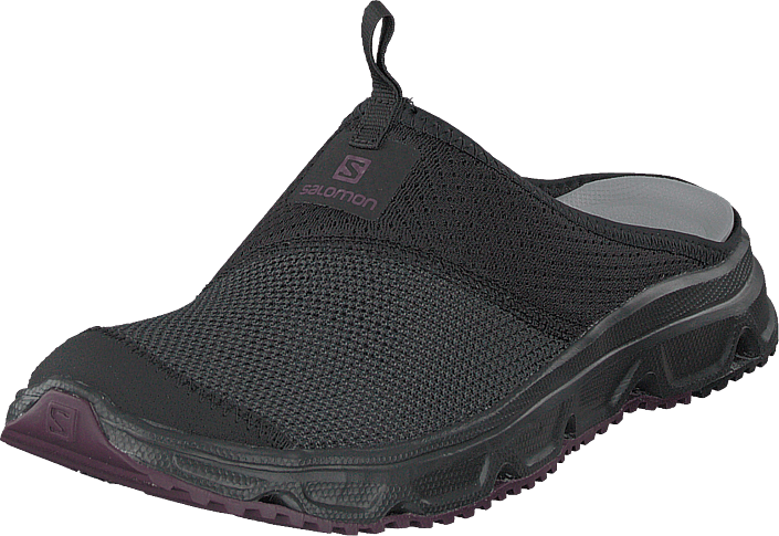 official photos f182d 7a9bf Kjøp Salomon Rx Slide 4.0 W Black black potent Purple sorte Sko Online    FOOTWAY.no