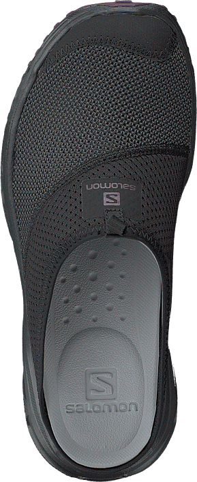 e4cf5fdb4136 Kjøp Salomon Rx Slide 4.0 W Black black potent Purple sorte Sko ...