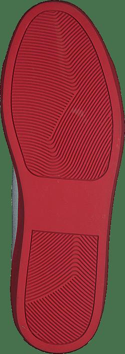 Svea - Arlo Three Antique White, Red Outsole