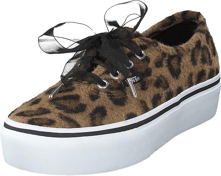 d52273fde4ad Buy Vans Ua Authentic Platform 2.0 (fuzzy) Leopard true White brown ...