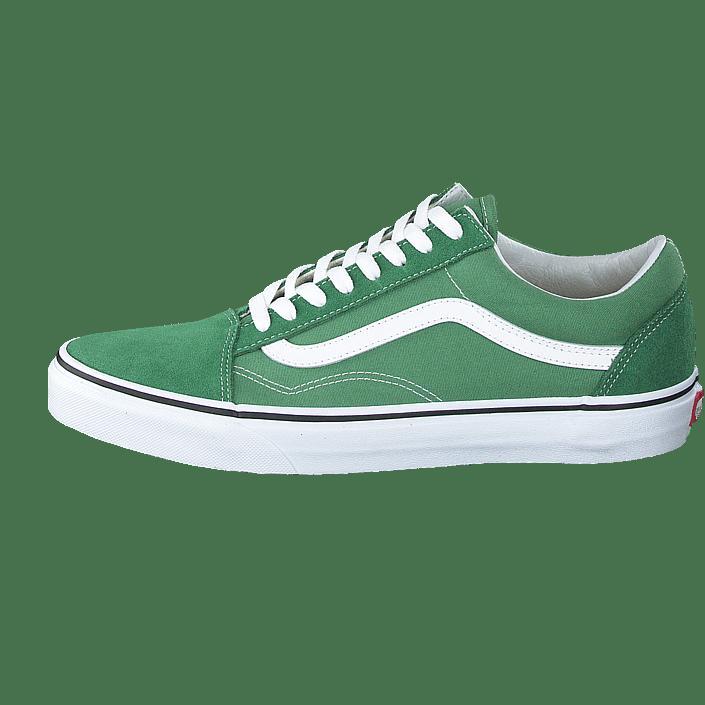 Vans Old Skool Deep Grass Green True White | Footshop
