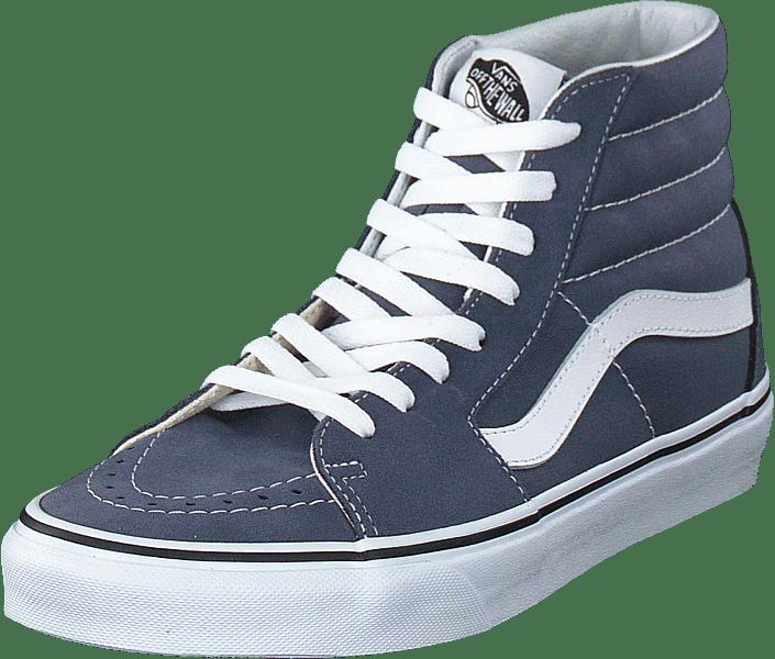 c5fb9fd533b0a9 Buy Vans Ua Sk8-hi Grisaille true White blue Shoes Online