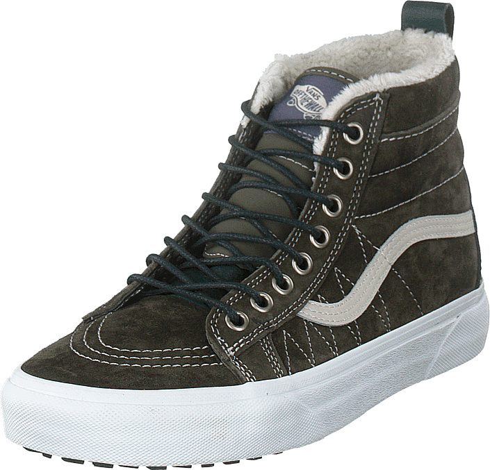 0d35c77158a Buy Vans Ua Sk8-hi Mte (mte) Dusty Olive spruce green Shoes Online ...