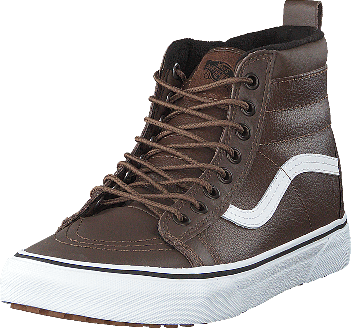 8bd43f4d3e Buy Vans Ua Sk8-hi Mte (mte) Rain Drum leather brown Shoes Online ...