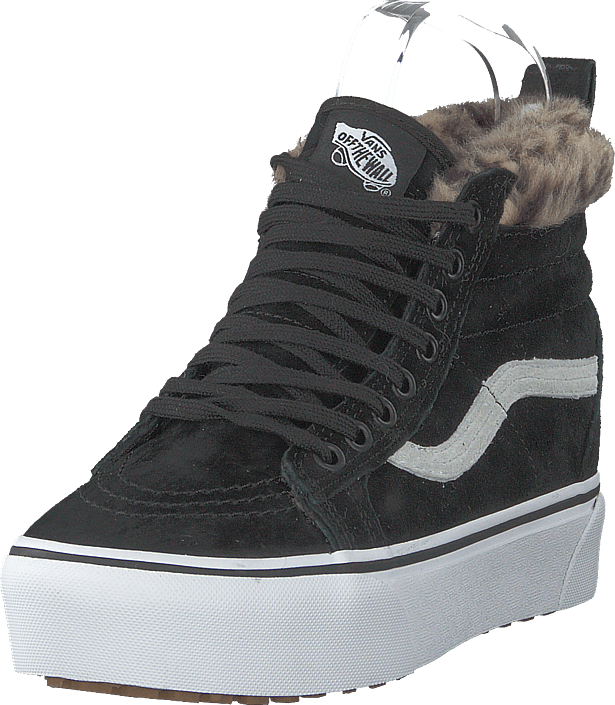 5c1f3fceea0 Buy Vans Ua Sk8-hi Platform Mte (mte) Black leopard Fur black Shoes ...