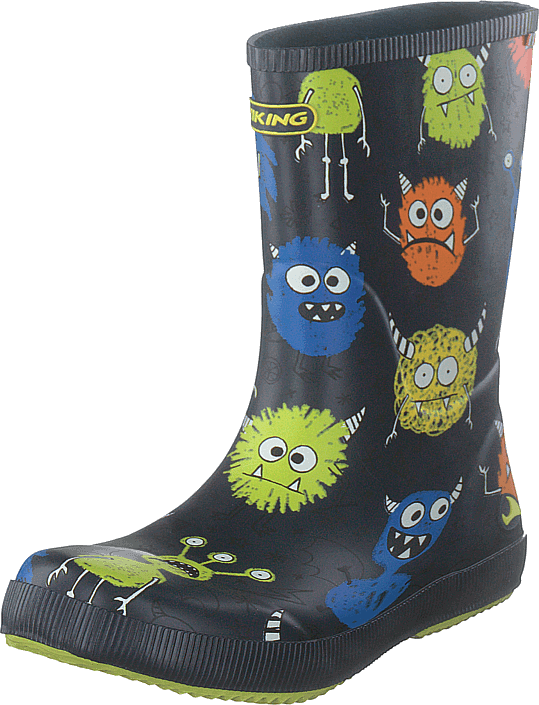 Buy Viking Classic Indie Monsters Navy lime blue Shoes Online ... 0a42066785
