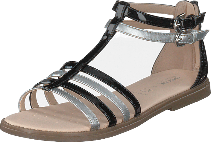 Geox - J Sandal Karly Girl Black/silver