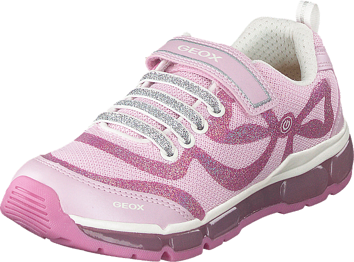 Geox - J Android Girl Pink/dark Pink