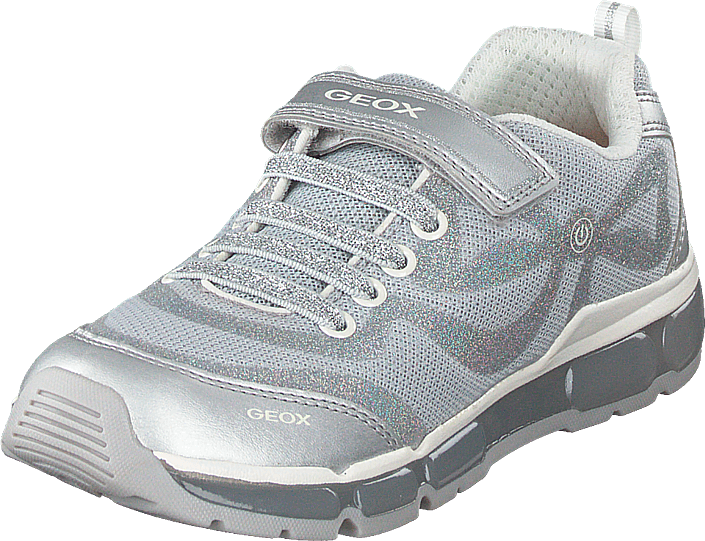 montar Algebraico extremidades  Buy Geox J Android Girl Silver Shoes Online | FOOTWAY.co.uk