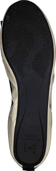 Shea Cream/black Patent