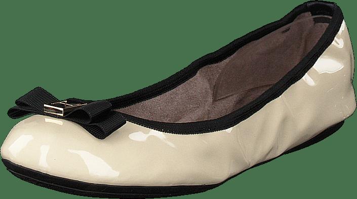Butterfly Twists - Shea Cream/black Patent