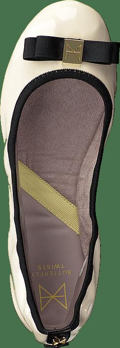 Kjøp Butterfly Twists Shea Cream/black Patent Sko Online