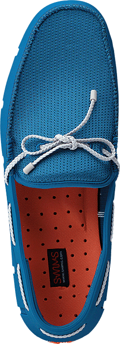 Hommes Chaussures Acheter Swims Braided Lace Loafer Seaport Blue / Alloy Chaussures Online
