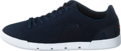 Breeze Tennis Knit Navy / White