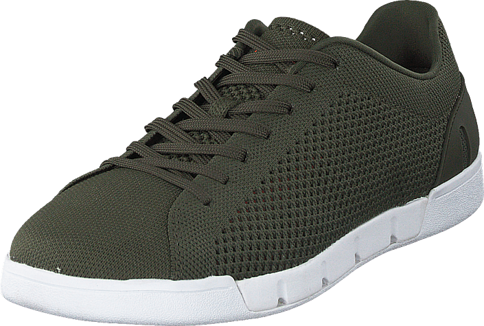 Swims - Breeze Tennis Knit Olive / White