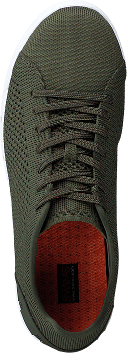 Breeze Tennis Knit Olive / White