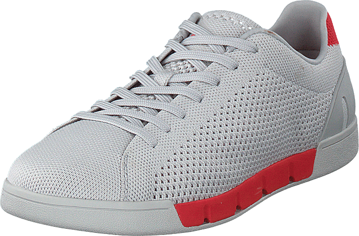 Swims - Breeze Tennis Knit Alloy / Red Alert