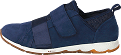 Cesky Strap Slip On Royal Navy Nubuck