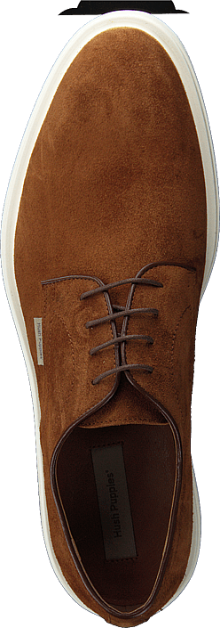 Hush Puppies - Tad Lace Up Camel