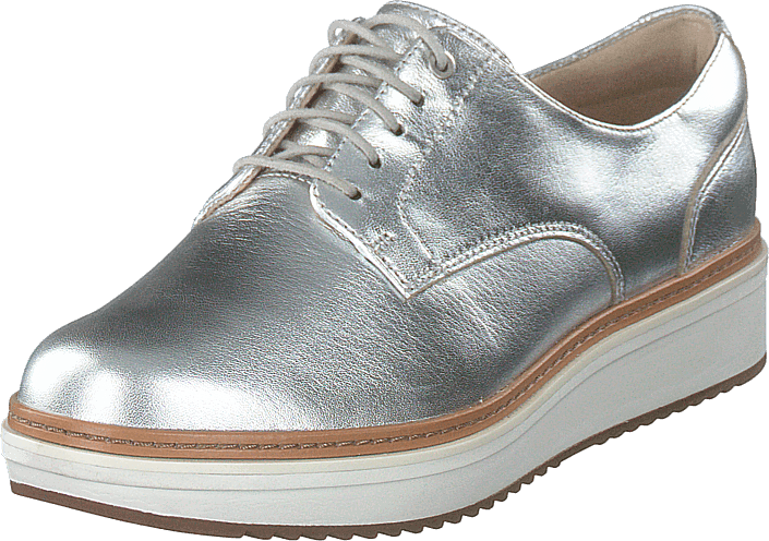 7d5f6162311 Buy Clarks Teadale Rhea Silver Metallic blue Shoes Online   FOOTWAY ...