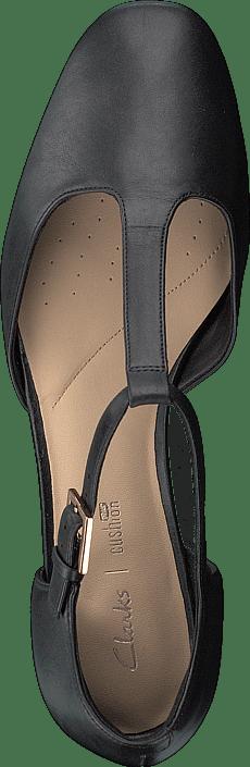 Kjøp Clarks Orabella Holly Black Leather Sko Online