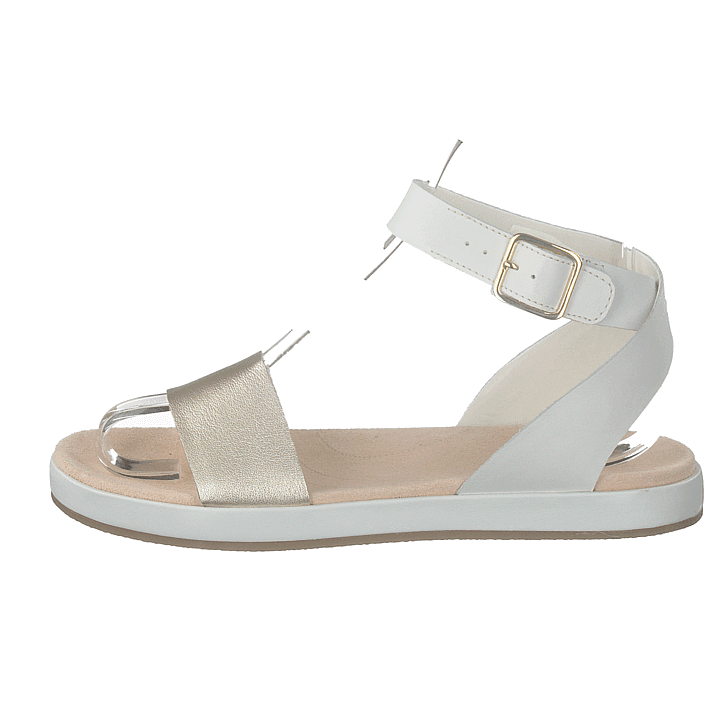 ac98a1a9525 Buy Clarks Botanic Ivy Cream beige Shoes Online