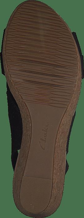 Kjøp Clarks Annadel Ivory Black Leather Sko Online