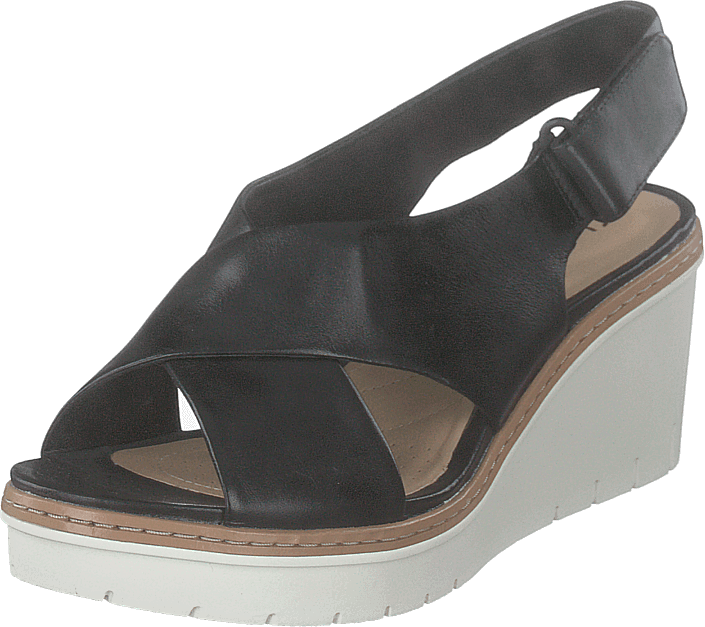 Clarks - Palm Candid Black Leather