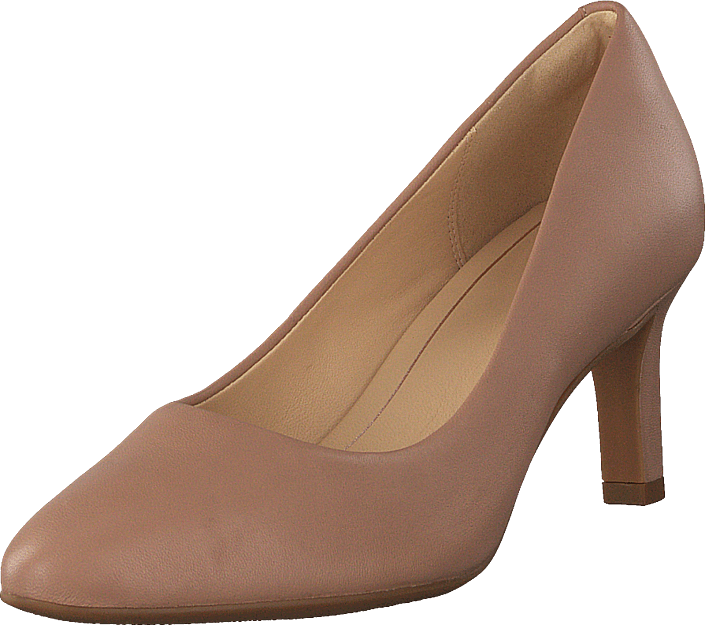 Clarks - Calla Rose Nude Leather