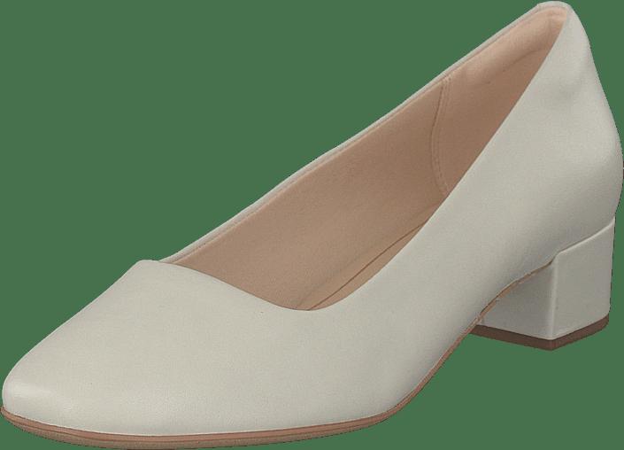 Orabella Alice Sko dk White Køb Leather OnlineFootway Clarks Hvide 80OwPkn