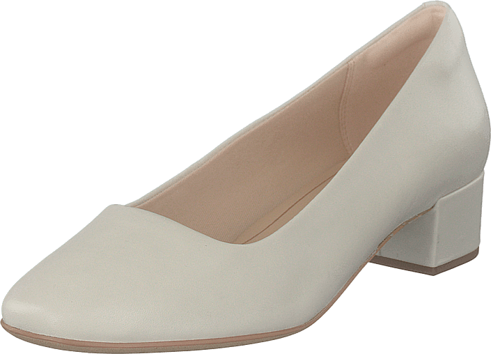 Clarks - Orabella Alice White Leather