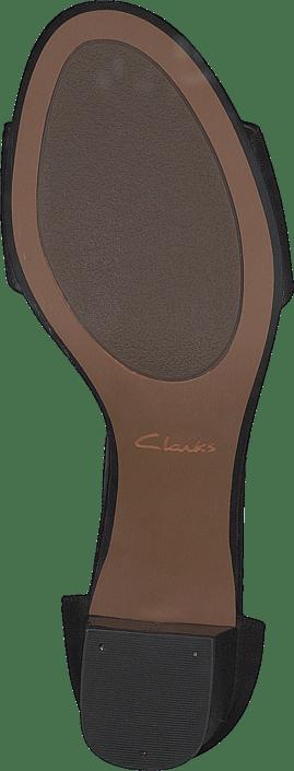 Clarks - Deva Mae Black Leather