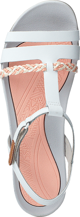 Tealite Grace White Leather