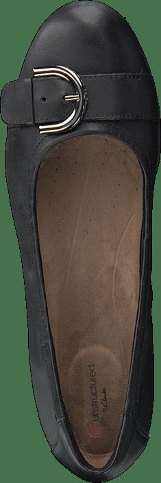 Kjøp Clarks Nenah Lark Black Leather Sko Online