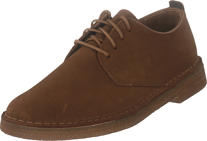 Clarks - Desert London Cola Suede