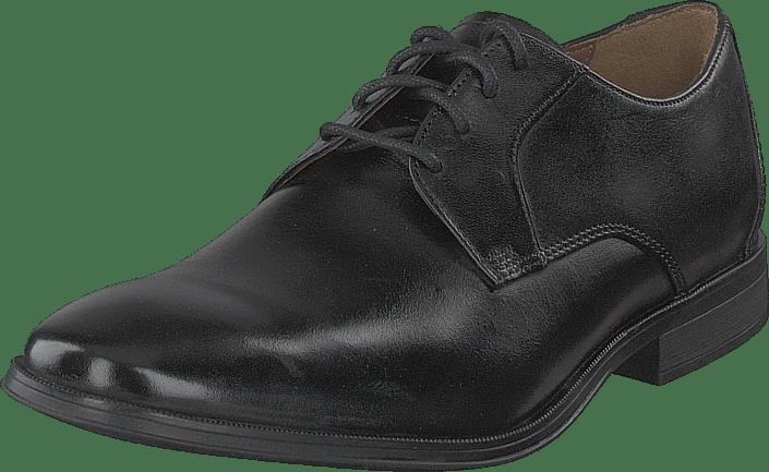 Clarks - Gilman Lace Black Leather