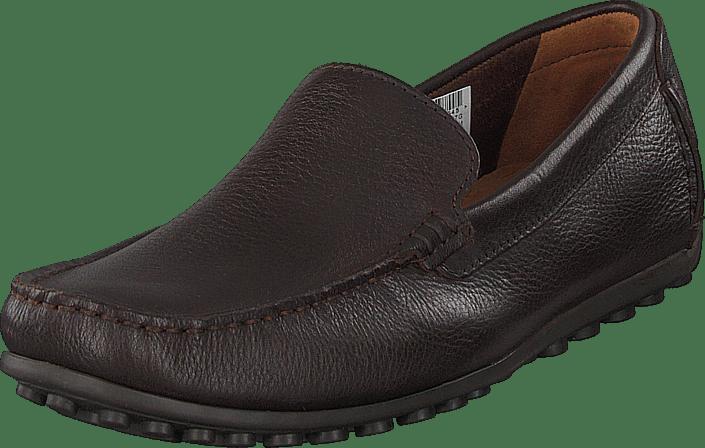 Clarks - Hamilton Free Dk Brown Leather