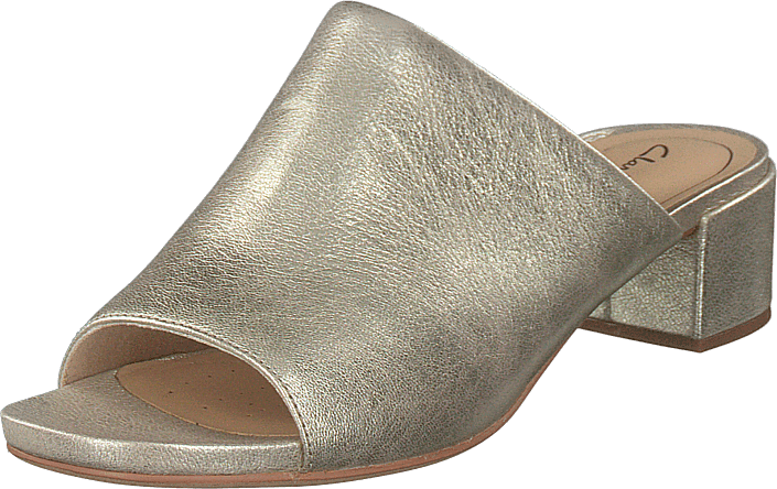 Clarks - Orabella Daisy Champagne Leather