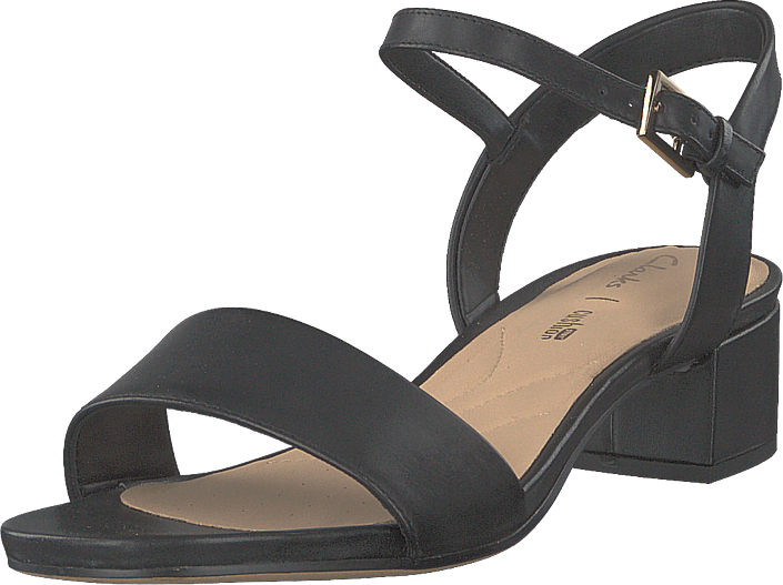 Orabella Iris Black Leather