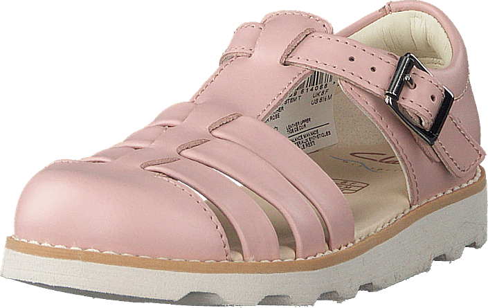 Clarks - Crown Stem T Pink Leather
